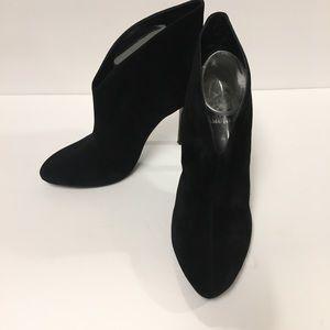Vince Camuto Caden Booties Suede Black Size 9.5